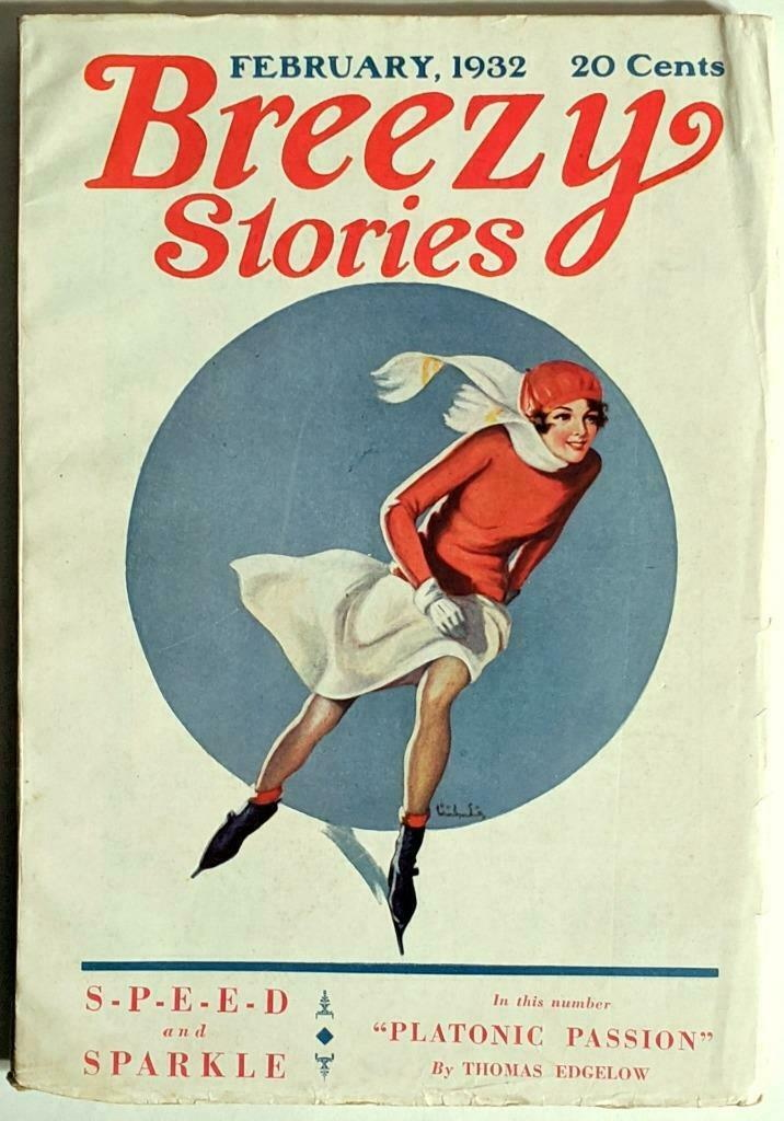 Breezy Stories - February 1932